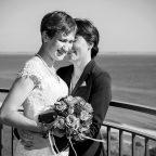 Hochzeitsfotos im Leuchtturm Falshöft/Flensburg 08/16