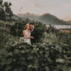 Hochzeitsfotos in Domaso, Como, Italien 06/19