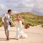Hochzeitsfotos in Zandvoort, Niederlande 05/20